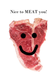 Ncie to meat you